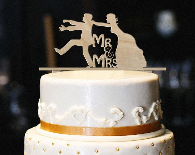 Funny Mr Mrs Wedding Cake Topper Funny Wood Wedding Cake Topper Engagement Cake Topper Woo Engagement Cake Toppers Wood Cake Topper Wedding Cake Toppers