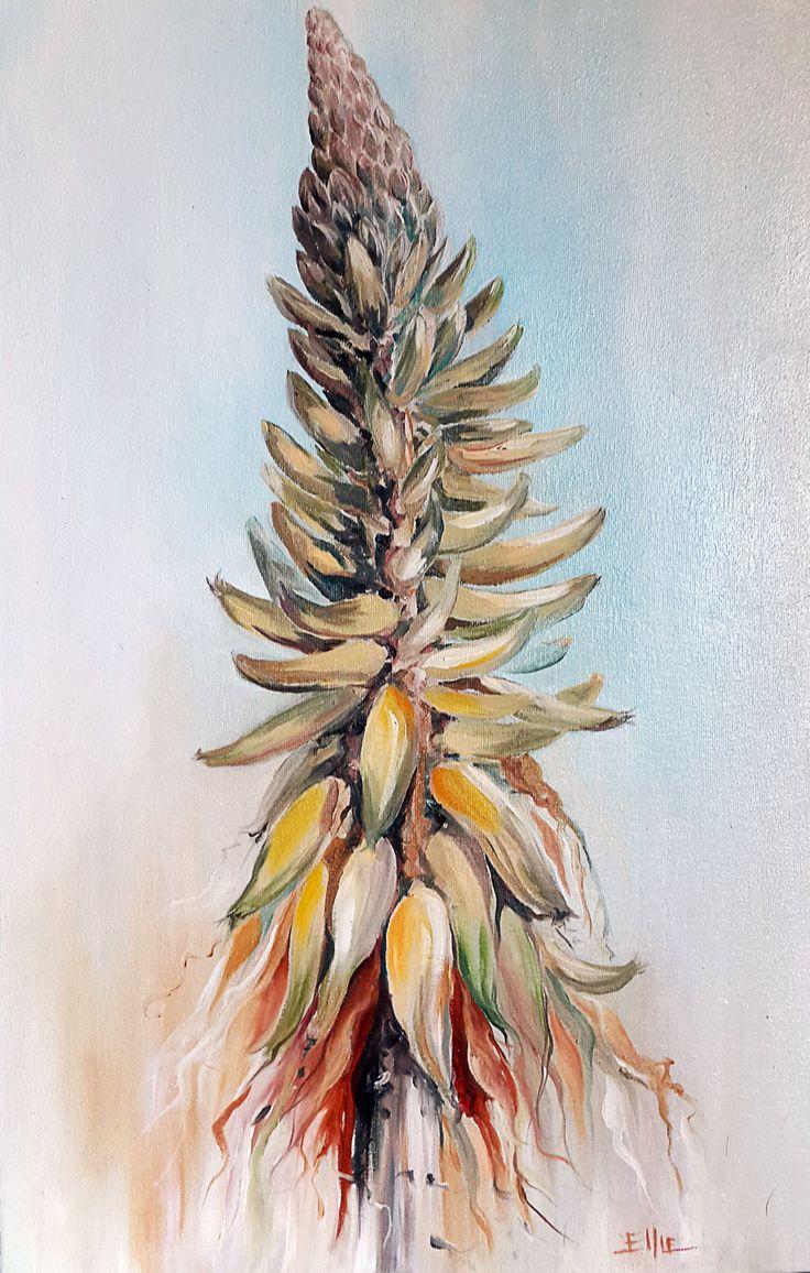 La Belle Oil on canvas 55cm x 35cm By Ellie Eburne