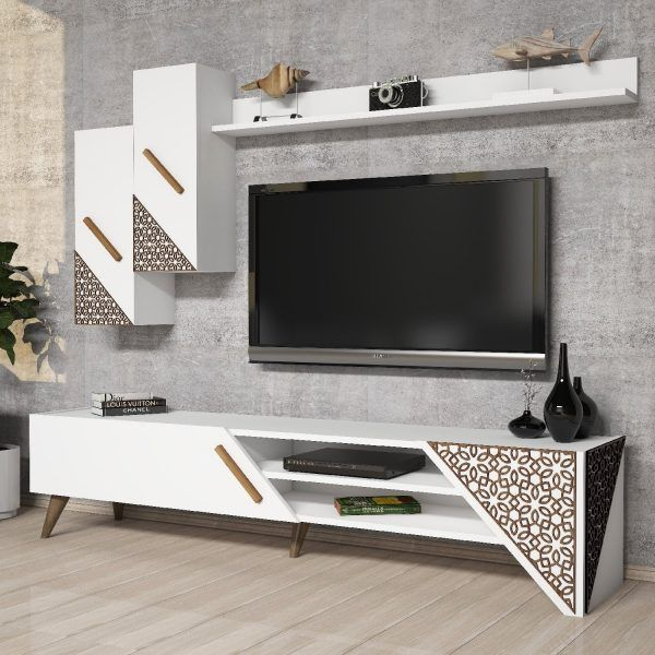 10 Top Wall Unit Design For Living Room