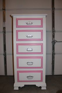 new latte life: Little Girl Dresser Project
