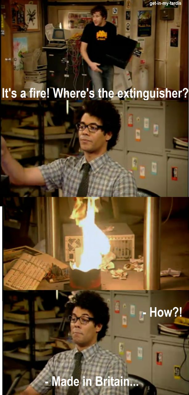 The It Crowd Hello It Have You Tried Turning It Off