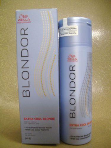 Wella Blondor Extra Cool Blonde Lightener & Toner 150G
