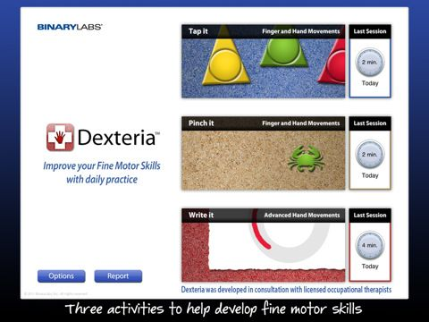 Occupational Therapy IPad App