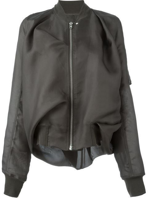 Shop Rick Owens draped bomber jacket in Feathers from the world's best independent boutiques at farfetch.com. Shop 400 boutiques at one address.