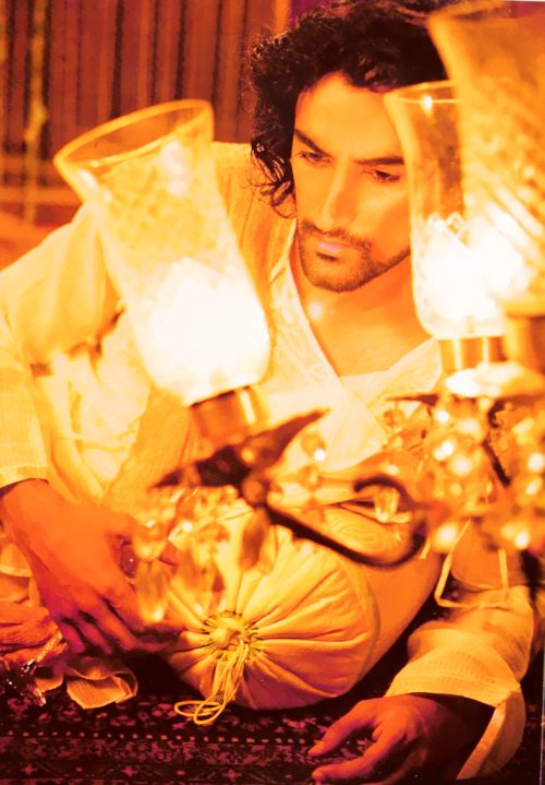 Kunal Kapoor as Devdas, a special photoshoot for L'Officiel.