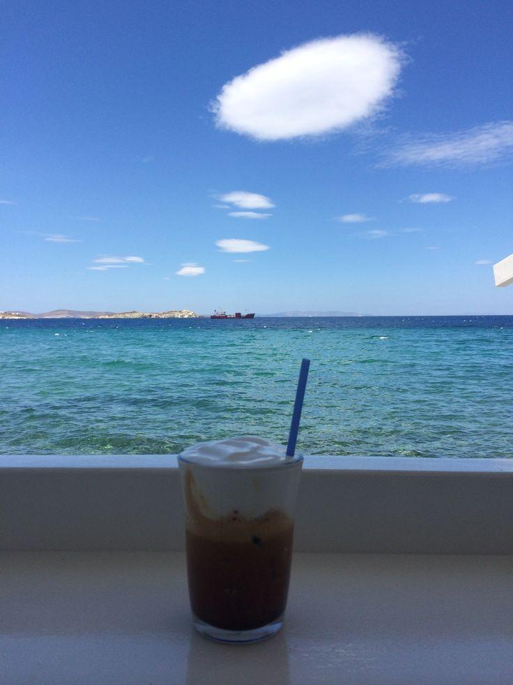 mykonos little venice coffe