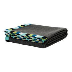 "EIVOR bedspread/blanket, gray Length: 94 "" Width: 59 "" $14.99"
