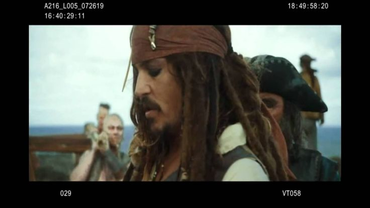 Pirates of the Caribbean 4 .On Stranger Tides - Bloopers