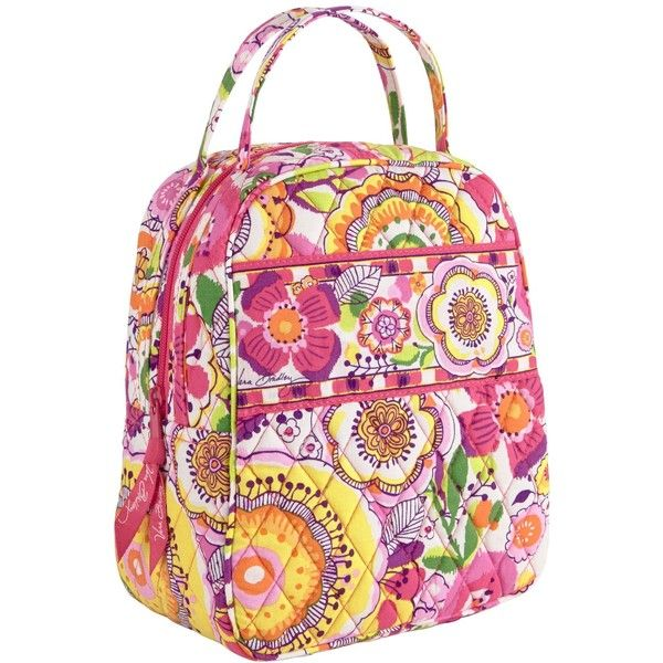 Vera Bradley Lunch Bunch in Clementine ($24) ❤ liked on Polyvore featuring home, kitchen & dining, food storage containers, clementine, accessories, lunch bags, colored lunch bags, vera bradley, vera bradley bags and lunch thermos