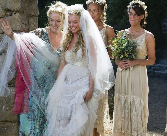 Mamma Mia Fashion In 2020 Movie Wedding Dresses Wedding