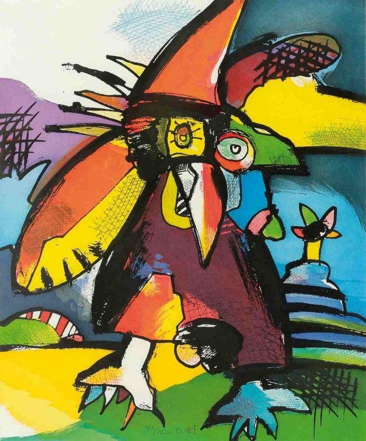 thirdorgan: Otmar Alt (Germany, 1940) Vogel