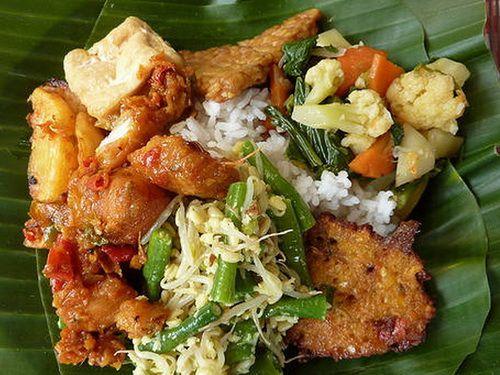 Nasi Campur (Mixed Rice)