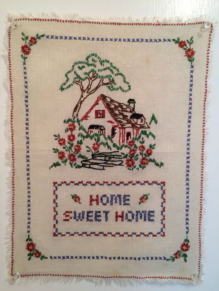 Home Sweet Home Vintage 19 best home sweet home images on pinterest | sweet home, counted