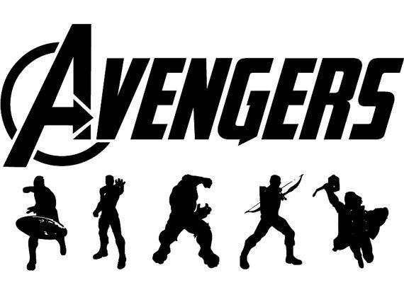 Avenger eps, Avenger svg, Avenger silhouette, Avenger , cutting files, Avenger stamped, silhouette files, Avengers svg, Superhero eps  What you will