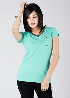 No Code Solid Women's Top