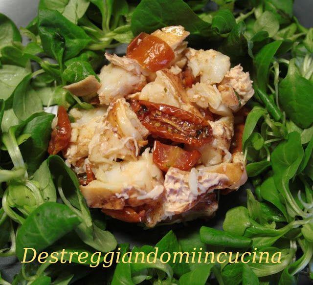 Destreggiandomi in cucina: Astice con pomodorini confit al limone