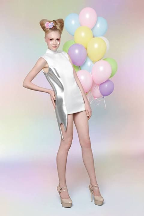 "Bunka Fashion Academy 6th Graduation Project @bunkafashionacademy #bunkafashionacademy ""Sweet Addict"" by Jiraporn Krieng-areekul"