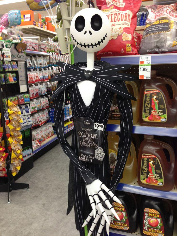 6 Ft Jack Skellington In Walgreens For 20 D Awesome