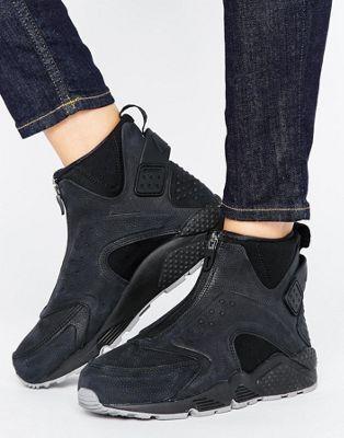 Zapatillas de deporte altas negras Run Premium Air Huarache de Nike