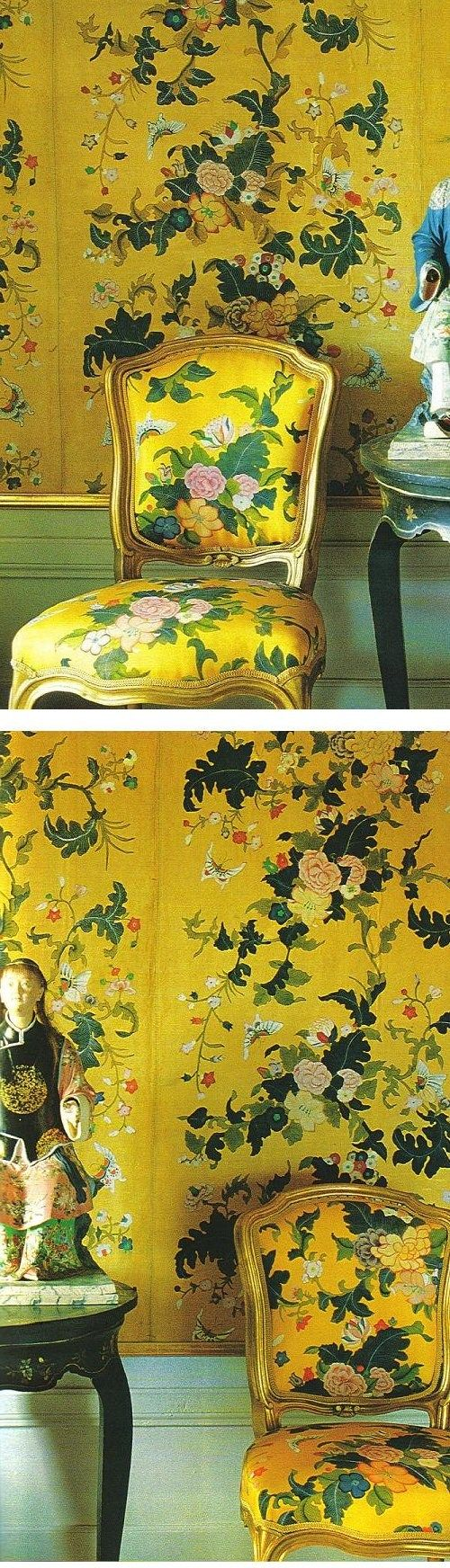 Chinese Pavilion Drottningholm featured in May 1996 World of Interiors