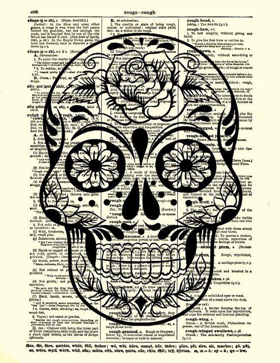 The 25  best Sugar skull drawings ideas on Pinterest