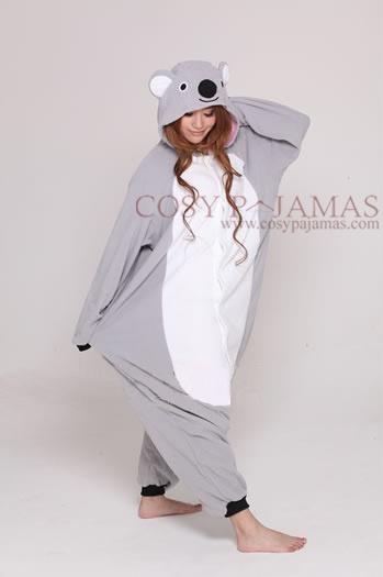 Animal Costume Koala Onesie Kigurumi For Adult