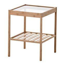 IKEA - NESNA, Ablagetisch, , Bambus ist ein strapazierfähiges Naturmaterial.