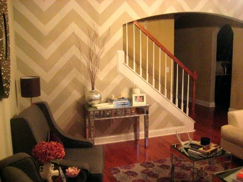 Painting Chevron Walls Is a New Interior Design Trend Photo 3