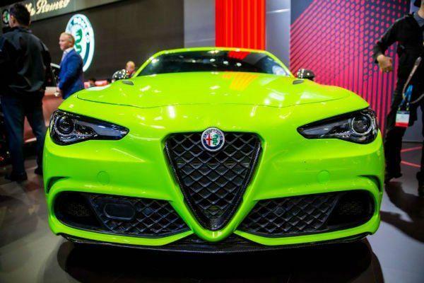 2020 Alfa Romeo Giulia Alfa Romeo Alfa Romeo Giulia Alfa Romeo Giulia Quadrifoglio