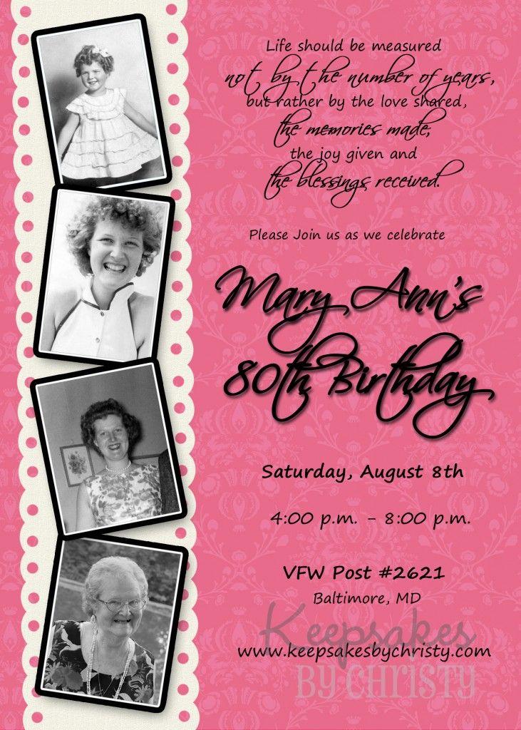 Milestone Adult Birthday