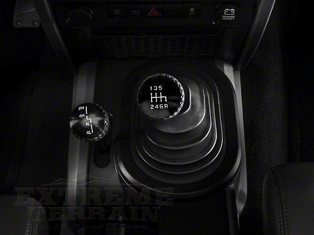 Drake Off Road 6-Speed Shift Knob - Black Finish (05-10 Wrangler TJ & JK)