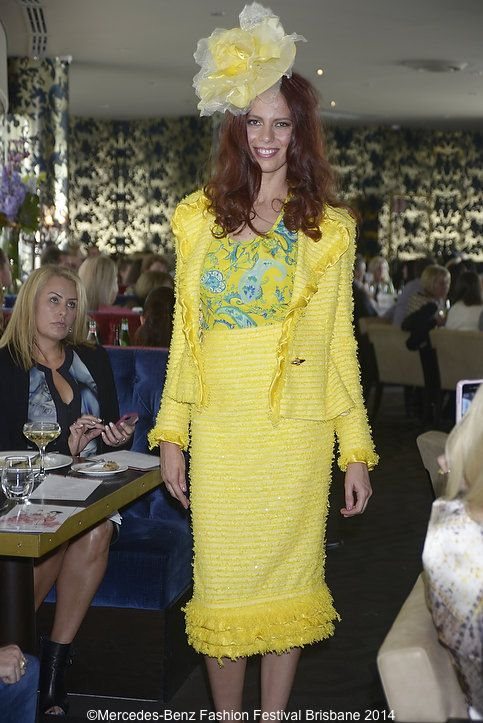 Irma J Smith brought the wow factor with this bright look
