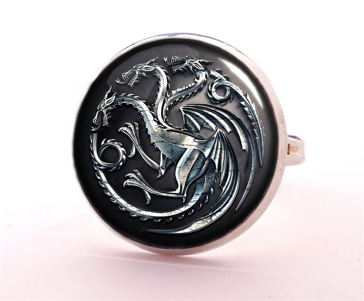 GAME OF THRONES Ring, Jewellery, 0240RS from EgginEgg by DaWanda.com