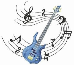 Music Notes 2, 1 - 2 Sizes! | What's New | Machine Embroidery Designs | SWAKembroidery.com Ace Points Embroidery