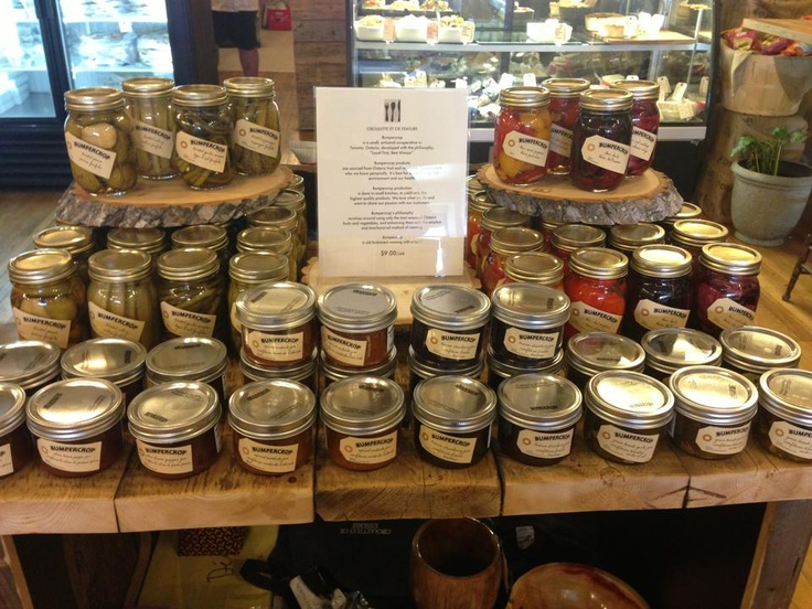 Ciboulette et Cie in Midland is an incredible shop with great locallove...Bumpercrop is proud to be there.