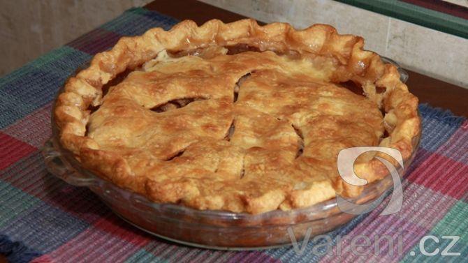 Recept na vynikající jablečný koláč.