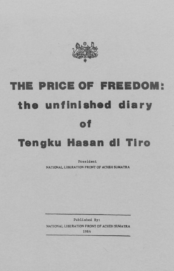 THE PRICE OF FREEDOM | Tengkuputeh
