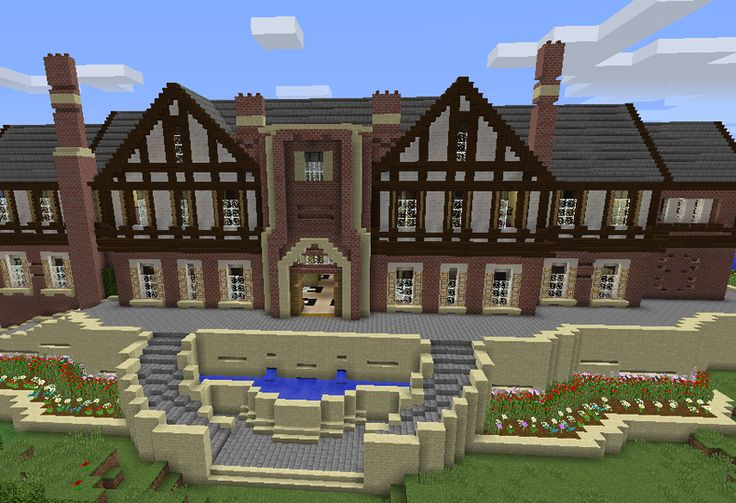 Huge Modern Mansion - GrabCraft - Your number one source for MineCraft buildings, blueprints, tips, ideas, floorplans!