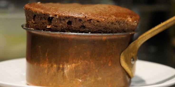Le soufflé au chocolat de Jean Imbert