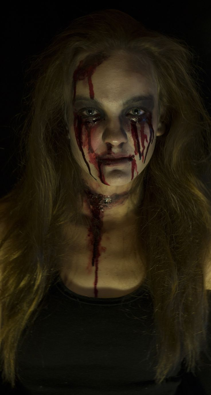 My halloween makeup for 2014 - Bloody Mary #makeup #bloody #bloodymary #halloween #makeupidea