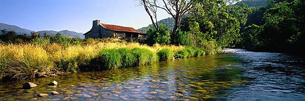 Headwaters of the Murray River,Geehi Hut, Kosciuszko, NP: