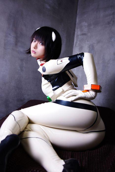 [画像]dddecember: mizzy710:Ero-cosplayer Ushijima IIniku's Evangelion plugsuit latexcatsuit • dddecember: mizzy710:Ero-cosplayer Ushijima...