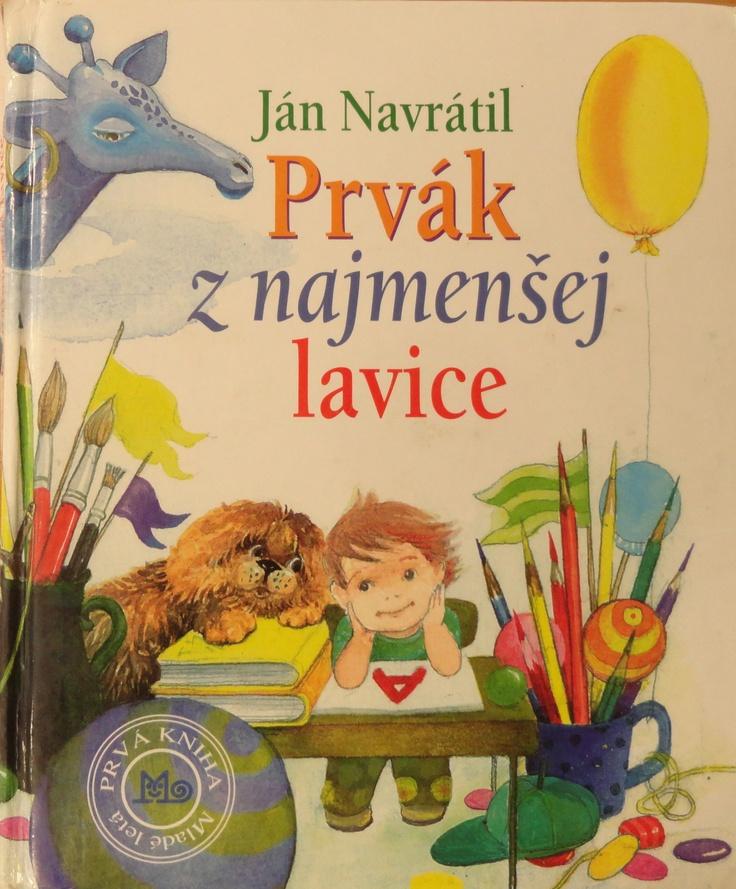 Vaneska's favourite book Prvák z najmenšej lavice.