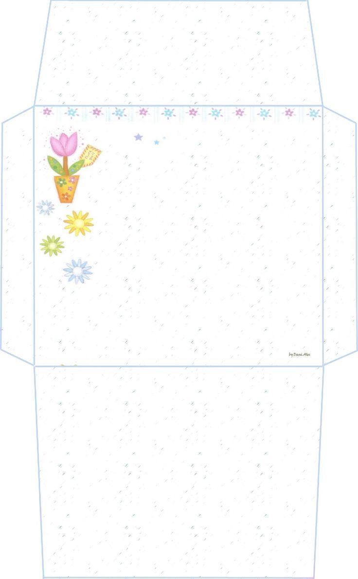 Распечатать конверт открытки