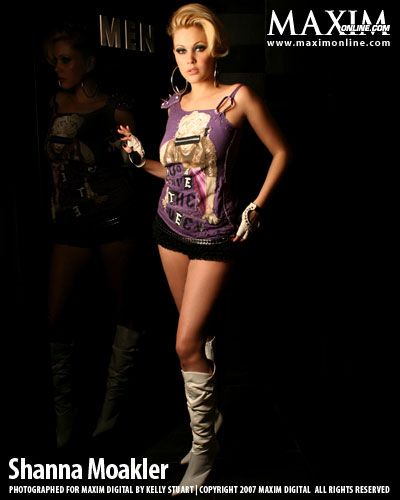 SHANNA MOAKLER MAXIM PHOTOSHOOT - Oh No They Didn't!