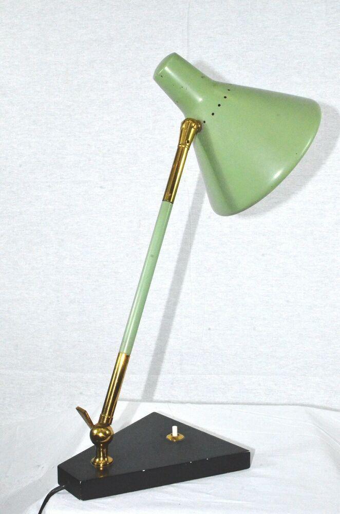 Lampada Stilux Milano Table Light anni '60 Mid Century