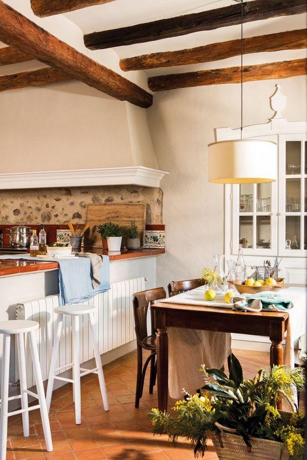 Cocinas Rusticas Ideas Para Conseguir Una Cocina Rustica Cocina Provence Cocinas Rusticas Cocinas De Estilo Rustico