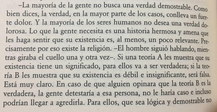 Fragmento del libro 1Q84 de Haruki Murakami