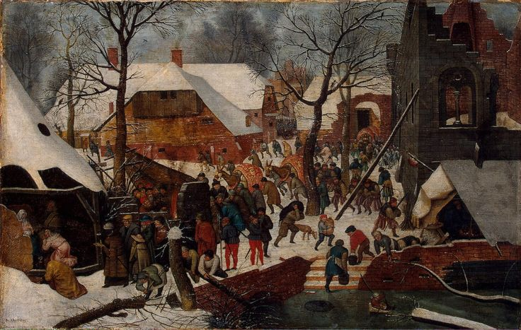 Pieter Brueghel the Younger, Adoration of the Magi, ca. 1600