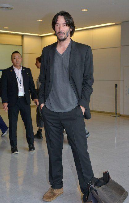 Keanu Reeves Japan for John Wick 2 movie 11 June 2017
